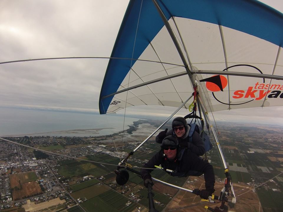 Paragliding in Neuseeland
