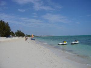 Bahamas, Strand, Jetski, Segelboot