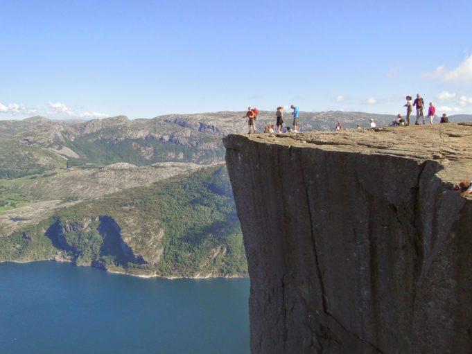 Norwegen, Preikestolen