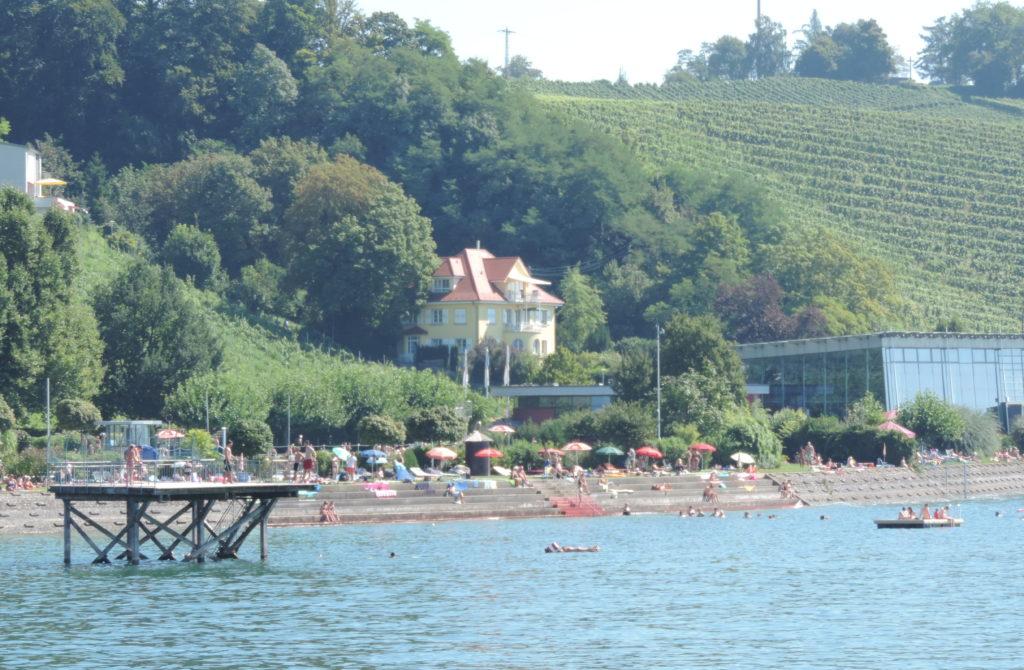 Bodensee, Schwimmen, Sonnen