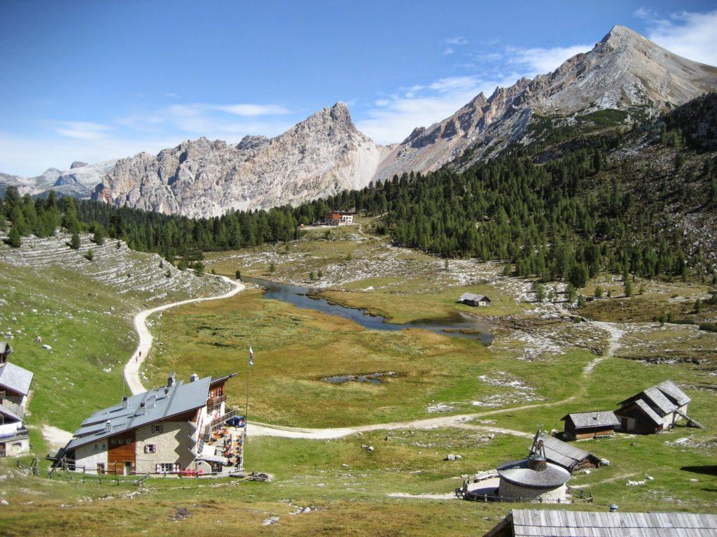 Lavarellahütte, Dolomiten (Italien)