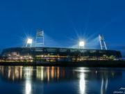 Das Weserstadion ist die Heimat von Werder Bremen