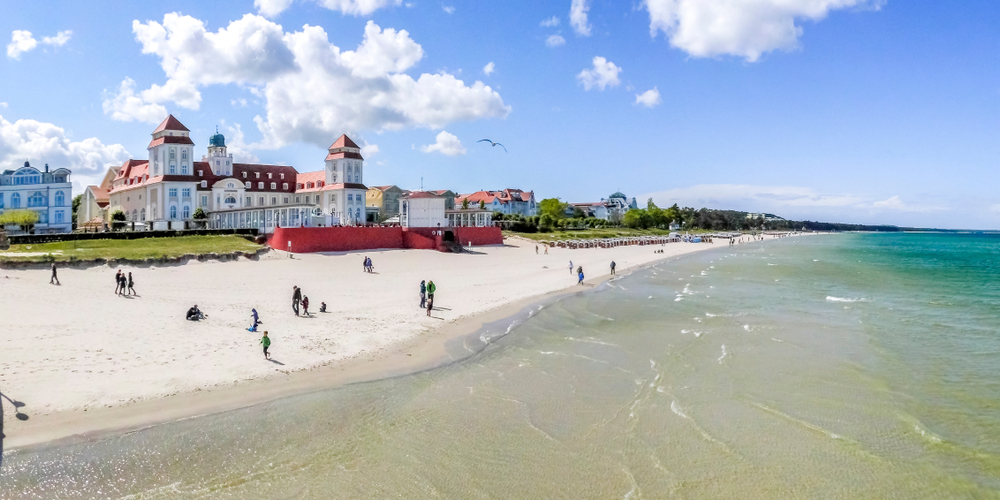 Binz, Island Ruegen, Germany