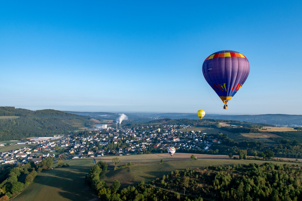 Hot air balloon Festival in Warstein Germany - WIM 2018 - Warstein, Germany Weekend 08/31/2018 - 09/01/2018 - 09/02/2018, Public Event