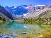 Tajikistan mountain, Fann mountain, Kulikalon lakes