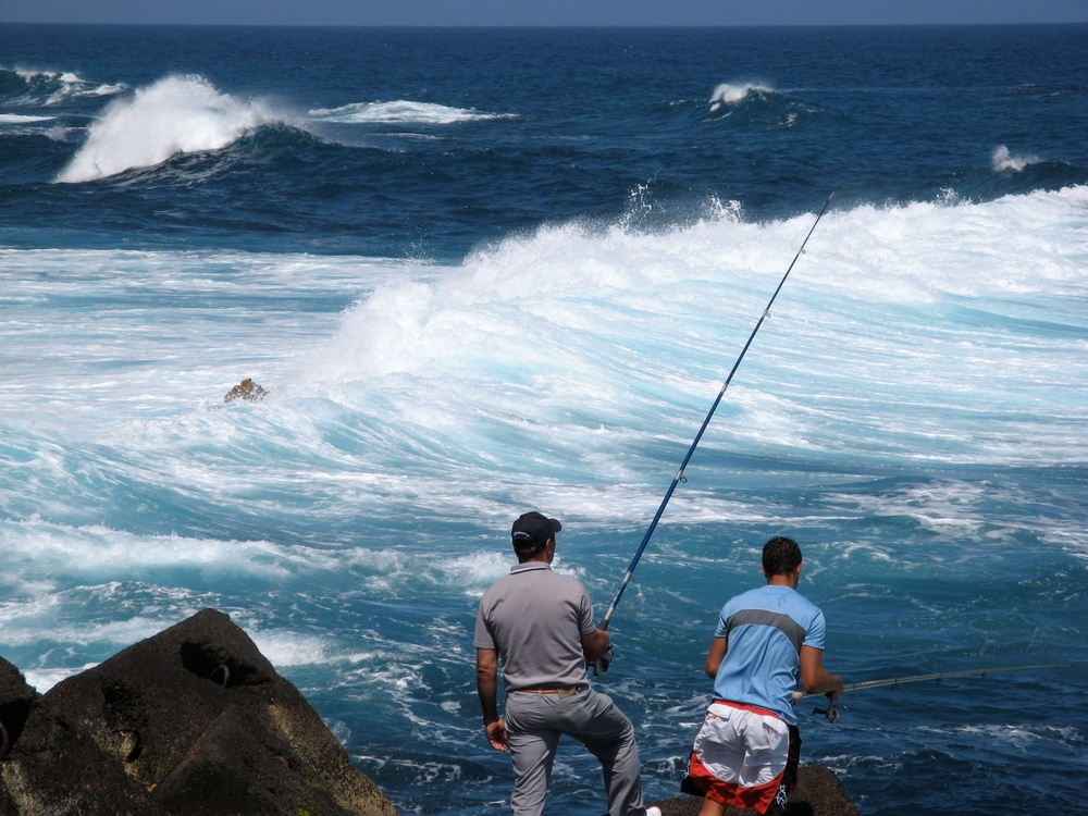 Fishermen in Puerto de la Cruz