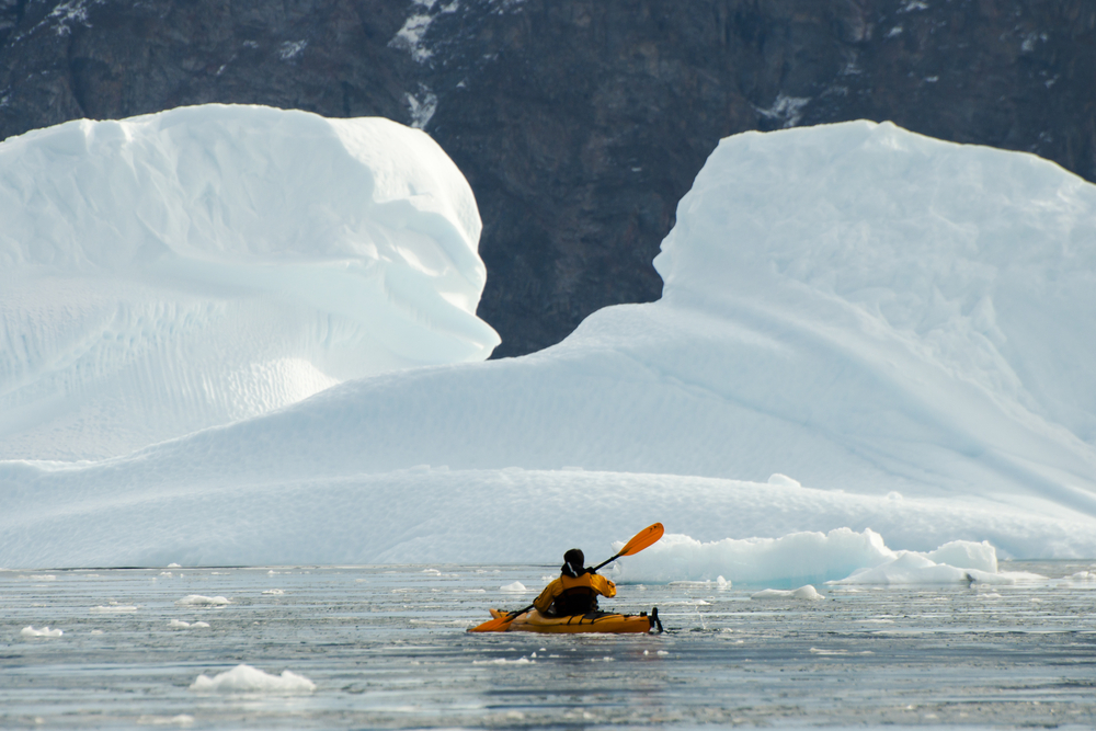 Kayaking in the Arctic - Greenland
