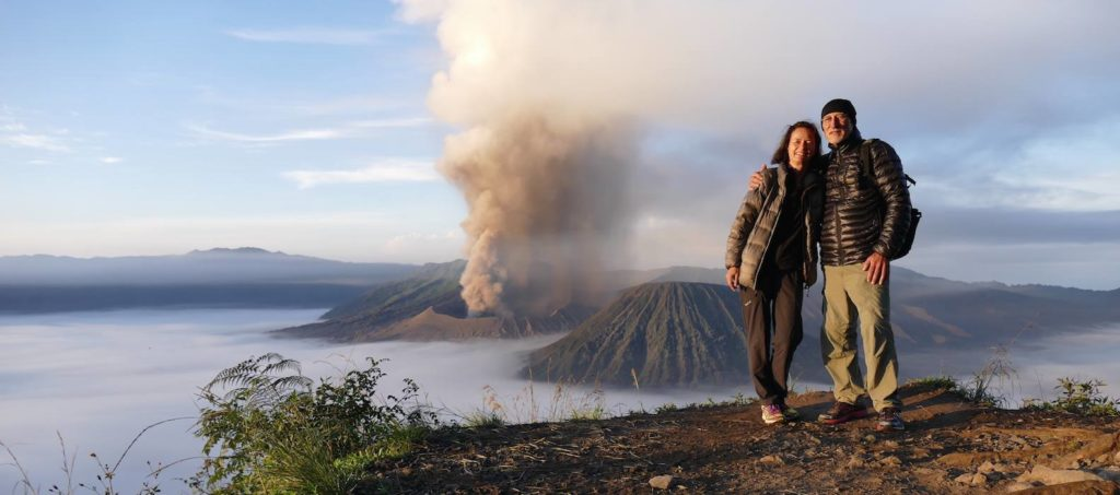 Unterwegs am Mount Bromo
