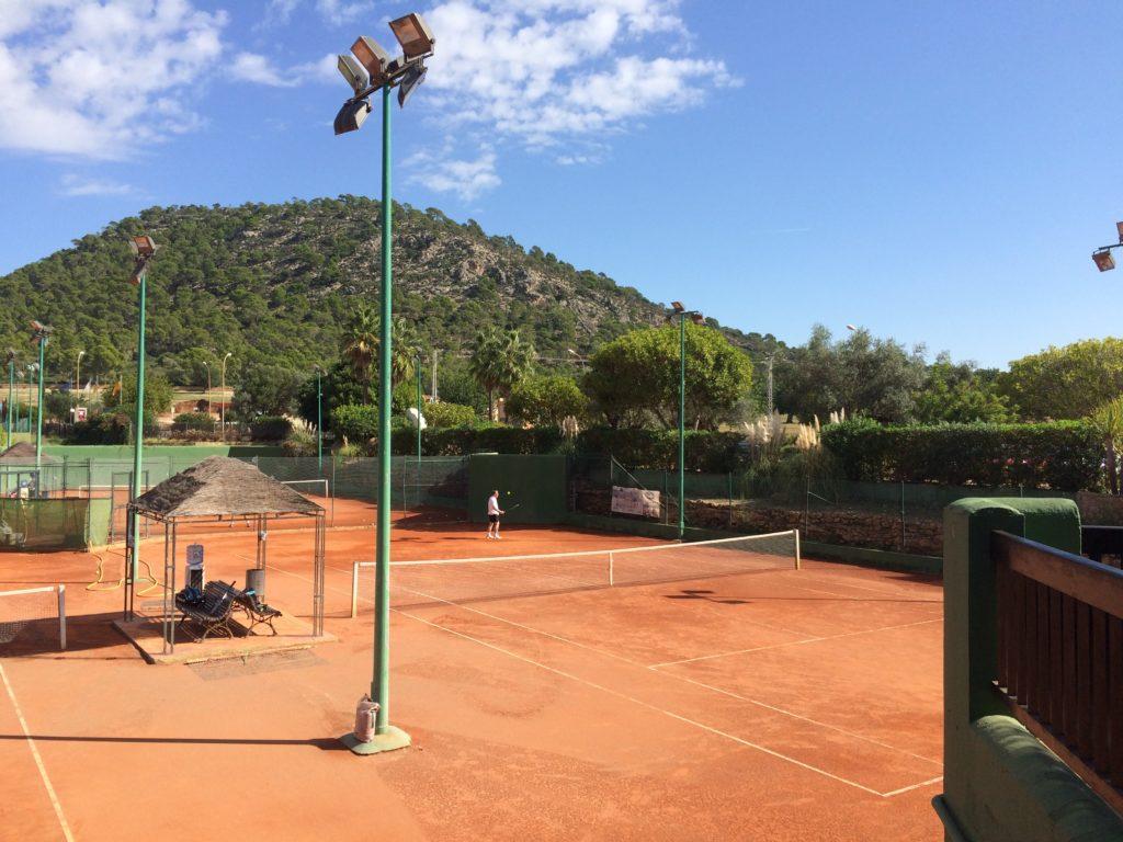 Tennis auf Reisen, Santa Ponsa (SPA)