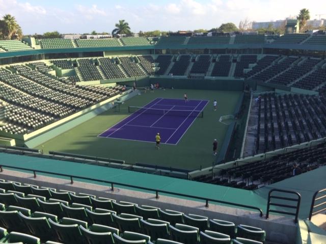 Key Biscayne - Tennis auf Reisen