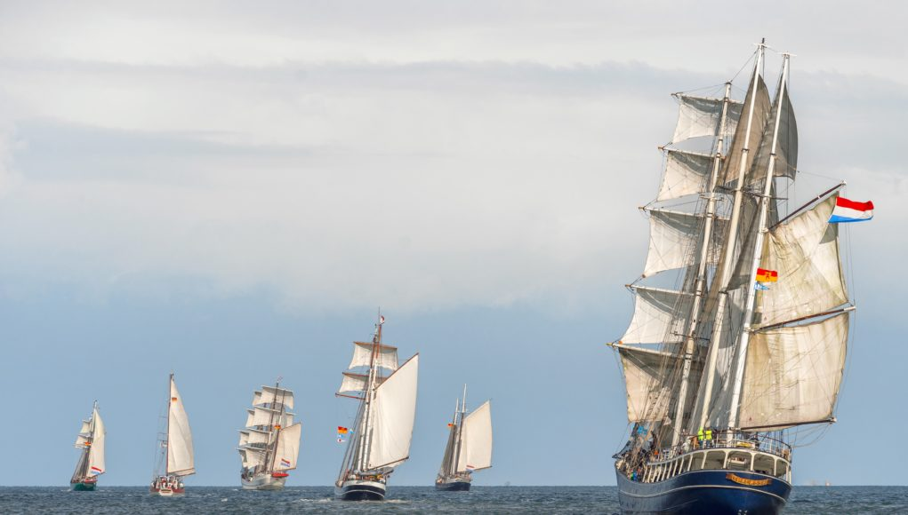 älteste TrTraditionssegler-Regatta auf der Nordsee: Wilhelmshaven Sailing-CUP